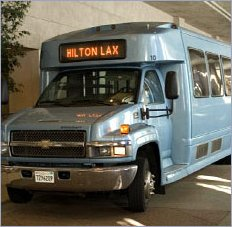 lax hotels with free shuttle to airport